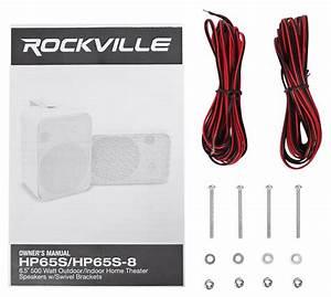 4  Rockville Hp65s Indoor Home Theater