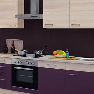 Küche 220 Cm : k chenzeile focus k che mit e ger ten 12 teilig breite 220 cm aubergine k che k chenzeilen ~ Eleganceandgraceweddings.com Haus und Dekorationen