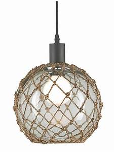 Large Glass Buoy Float Pendant Cottage Home®