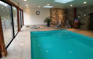 gite ref 22g412804 dans une maison paysanne du xviieme With location avec piscine couverte chauffee