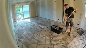 comment faire des joints de carrelage youtube With resine carrelage salle de bain