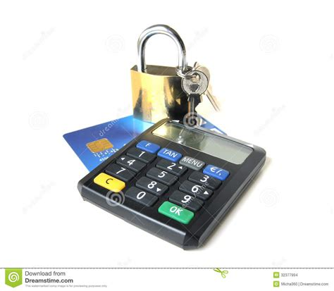 card security  tan generator stock images image