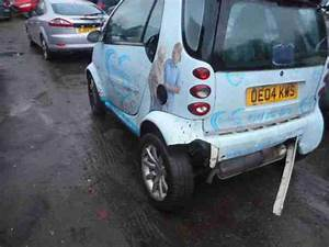 Smart 2004 City Passion 61 Auto Silver Salvage Light