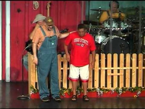Laughing Comedy Barn - comedy barn story time guest steals the show