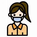 Mask Icon Coronavirus Wearing Covid19 Avatar Covid