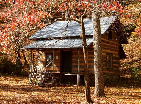 cabin in woods foxfire museum lazy b farm s