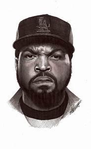 Ice Cube biro portrait by Craig-Stannard on DeviantArt