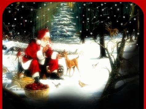21 Imágenesde Papa Noel Santa Claus con movimiento