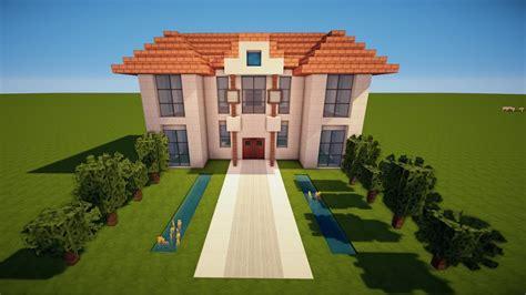 Minecraft Villa  Herrenhaus Bauen Tutorial [haus 107