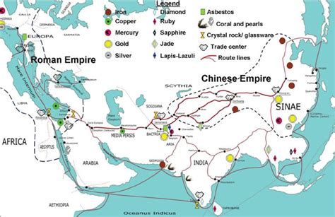 silk road overland  maritime routes  overland
