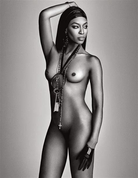 Naomi Campbell Goes Naked For Lui Magazine Flavourmag