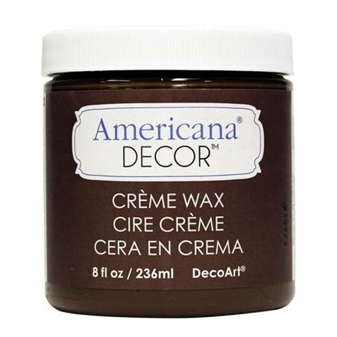 Americana Decor Creme Wax 8 Oz Clear by Decoart Americana Decor Cr 232 Me Wax 8 Fl Oz 236 Ml