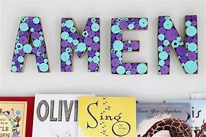 Diy, Paper, Mache, Letters, With, A, Twist