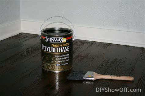 applying minwax polyurethane to hardwood floors how to refinish hardwood floorsdiy show diy