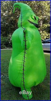 nightmare  christmas oogie boogie ft halloween inflatable gemmy halloween yard decor