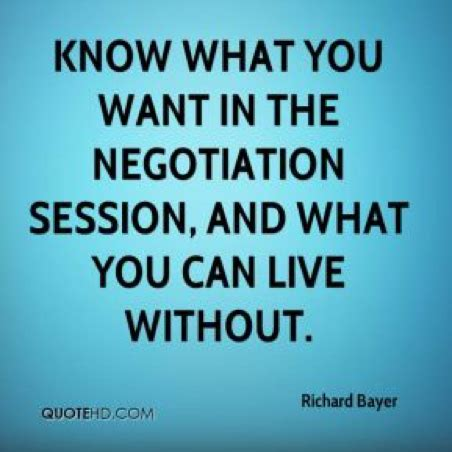 Negotiation Skills Quotes