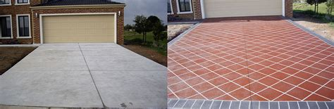 decorate your home with concrete resurfacing driveway