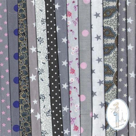 lot tissus patchwork pas cher taupe 20x20 cm