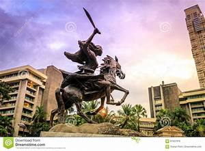 The Gabriela Silang Monument In Makati Editorial Photo ...