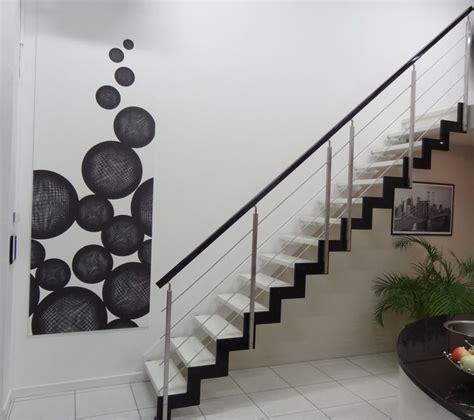 style ferro escalier  limon cremaillere thermo laque
