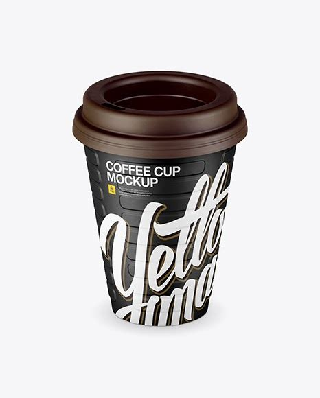 Therefore, take the opportunity to quickly and efficiently demonstrate your design. Matte Coffee Cup Mockup (High-Angle Shot) PSD Template
