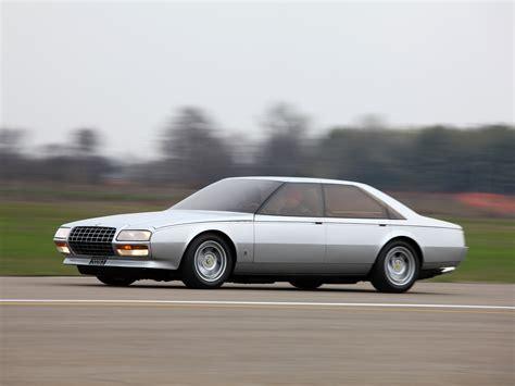 Only ferrari and pininfarina will ever know how much of the 612 was ferrari's and how much pininfarina's. Ferrari Pinin (1980) - Old Concept Cars