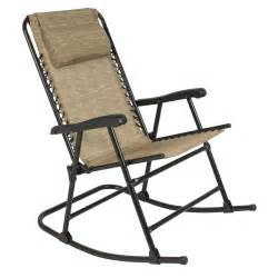 folding rocking chair foldable rocker outdoor patio