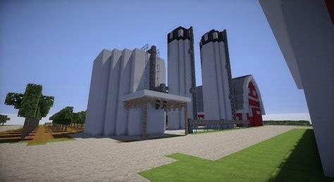 farm house  red barns minecraft building