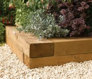 Bordure De Jardin Bois A Planter by Railway Sleepers Free Delivery Available
