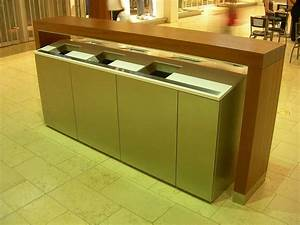 yorkdale shopping centre fancy garbage recycle bins by With interior design kitchen bins