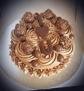Valentines Ferrero Rocher Cake   Hannah Bakes Cakes