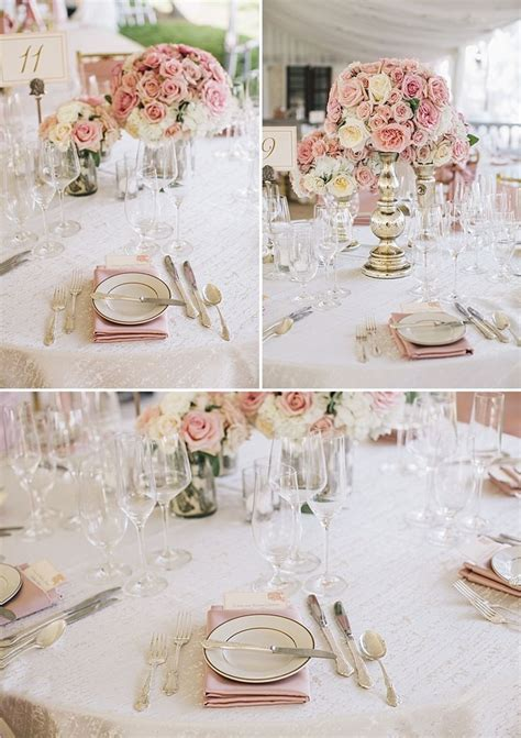 light pink table linens blush napkins with cream table linen and light pink