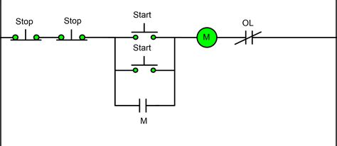 Two Wire Three Motor Control Circuit