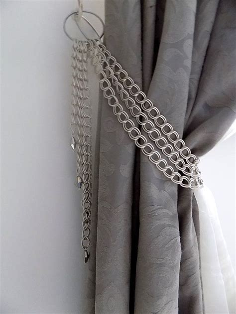 best 25 curtain holder ideas on diy curtain