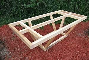 Fabriquer Une Table De Jardin En Bois. fabriquer table de jardin ...