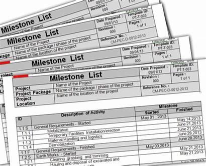 Management Milestone Construction Schedule Project Planning