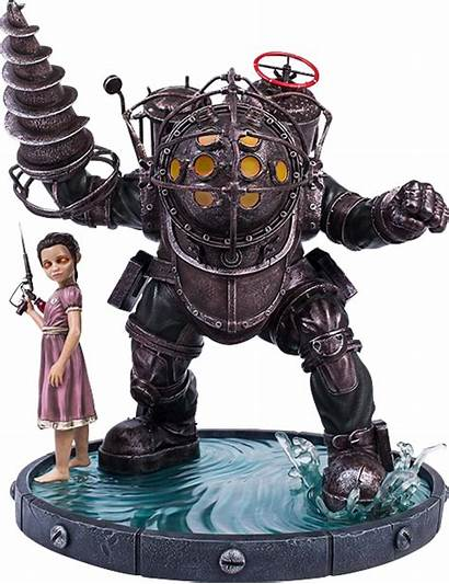 Daddy Bouncer Statue Bioshock Sideshow Heads Gaming