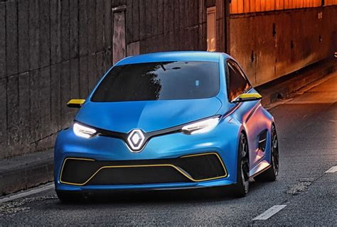 renault zoe rs electric hot hatch  consideration