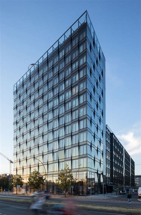"""However, the safety systems of our vehicles can't protect our family. Projekt """"Zentrale Mercedes-Benz-Vertrieb Deutschland...competitionline   Glass building, Facade ..."""