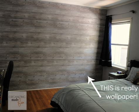 Holz Tapete Schlafzimmer by How To A Plank Wall Boys Room Update