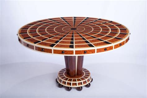 art deco veneer table win design portfolio