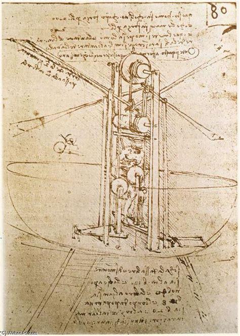 Macchina Volante Di Leonardo Da Vinci by Macchina Volante 1487 Di Leonardo Da Vinci 1452 1519 Italy