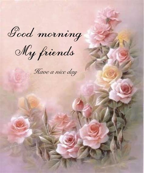 good morning  friend image  patricia hamm  good