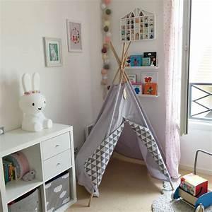 Tipi Pour Chambre : chambre b b enfant fille tipi little nomad meubles ikea baby kids room pinterest ~ Teatrodelosmanantiales.com Idées de Décoration