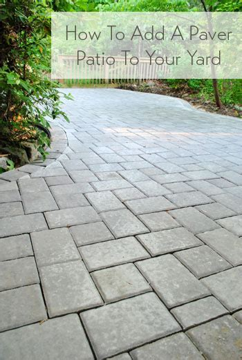 how to build a paver patio it s done easy patios
