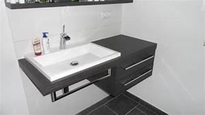 Waschbecken Aufsatz Für Badewanne : gerd nolte heizung sanit r modernes badezimmer in schwarz wei ~ Markanthonyermac.com Haus und Dekorationen