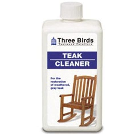 birds casual teak cleaner liter bottle