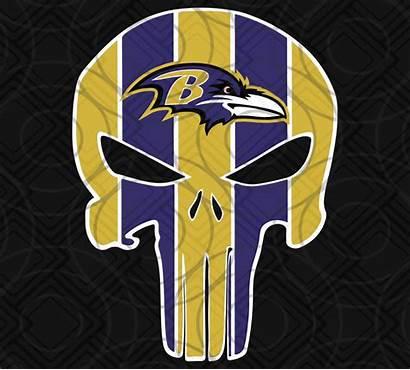 Ravens Baltimore Svg Football Raven Punisher Logos