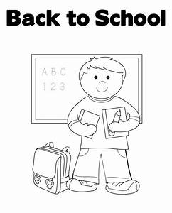 Back To School Bus Coloring Page | www.imgkid.com - The ...