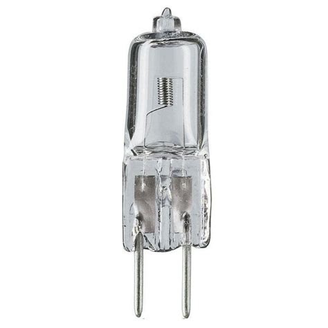 75 watt halogen t4 120 volt capsule dimmable light bulb